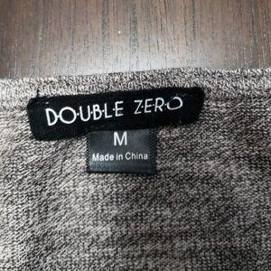 Double Zero Tops - Cold Shoulder